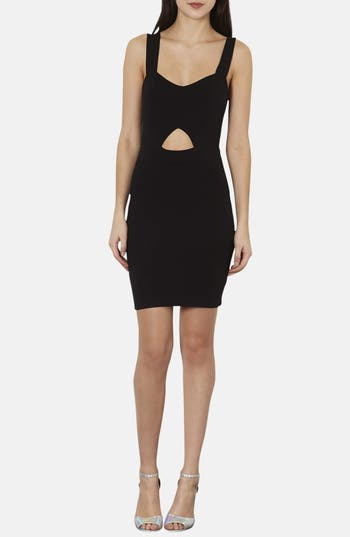 Alternate Image 1 Selected - Topshop Cutout Body-Con Minidress