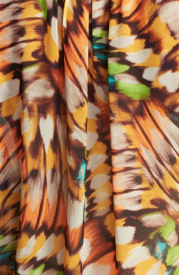 Alternate Image 3  - Two by Vince Camuto Butterfly Wing Print Blouse