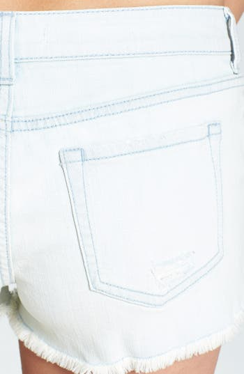 Alternate Image 3  - r jeans from Rubbish Destroyed Cutoff Shorts (Juniors)