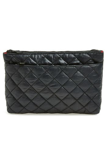 Alternate Image 4  - MZ Wallace Quilted Metallic Cosmetics Pouch