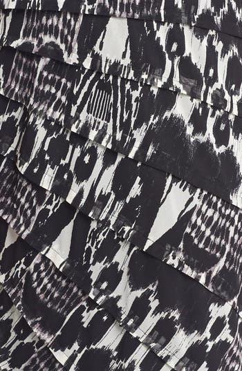 Alternate Image 3  - Adrianna Papell Print Tiered Sheath Dress (Plus Size)