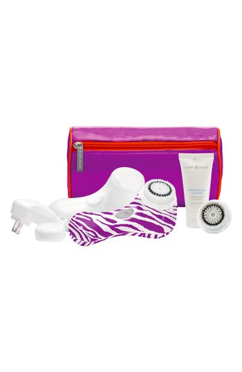 Alternate Image 1 Selected - CLARISONIC® 'Mia 2 - Purple Zebra' Sonic Skin Cleansing System (Nordstrom Online Exclusive) ($204 Value)