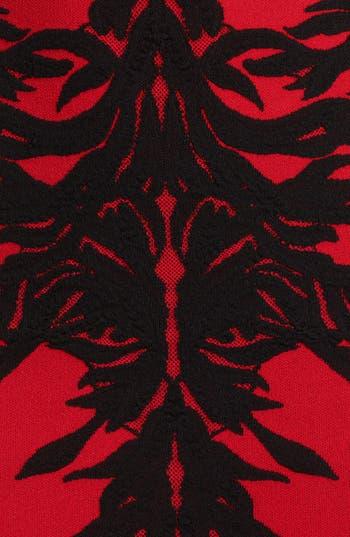 Alternate Image 3  - Alexander McQueen Spine Print Intarsia Knit Dress