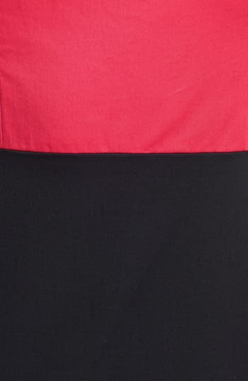 Alternate Image 3  - French Connection Cap Sleeve Colorblock Sheath Dress
