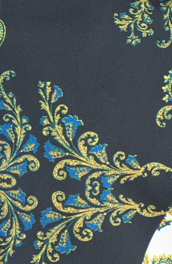 Alternate Image 4  - Just Cavalli Contrast Lapel Paisley Print Jacket