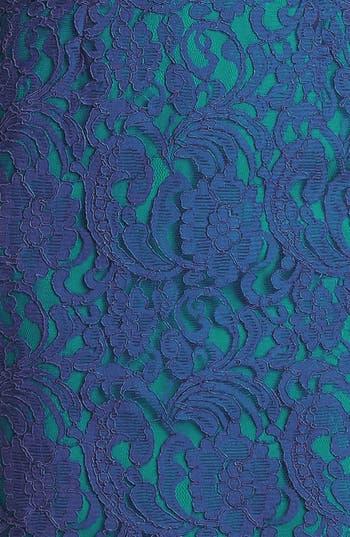 Alternate Image 4  - Ivy & Blu Cap Sleeve Lace Dress