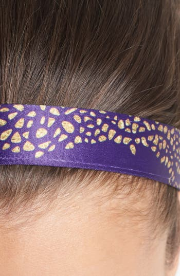 Alternate Image 2  - Sweaty Bands 'All That Glitters' Head Wrap