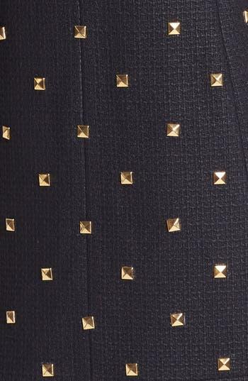 Alternate Image 3  - kate spade new york 'spencer' studded tweed coat