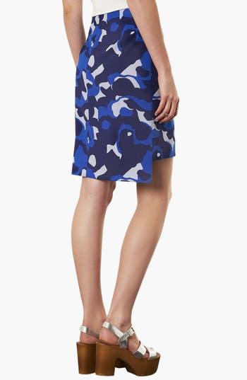 Alternate Image 2  - Topshop Camo Print Pencil Skirt