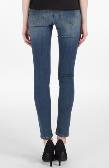 Alternate Image 2  - maje 'Robin' Ankle Stretch Skinny Jeans