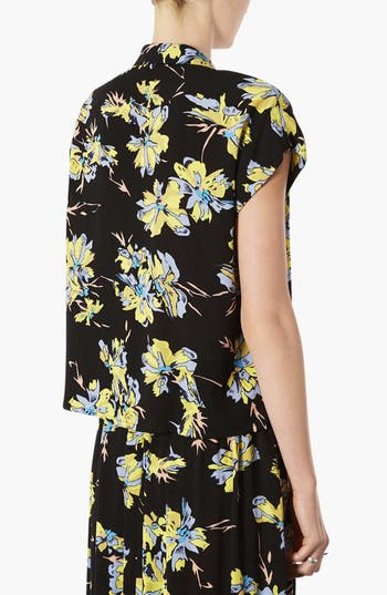 Alternate Image 2  - Topshop 'Sophie' Short Sleeve Top