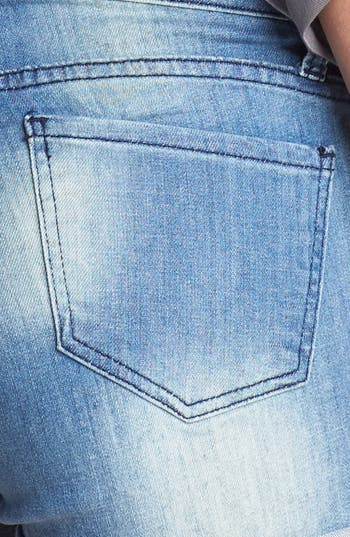Alternate Image 3  - STS Blue Roll Cuff Denim Shorts