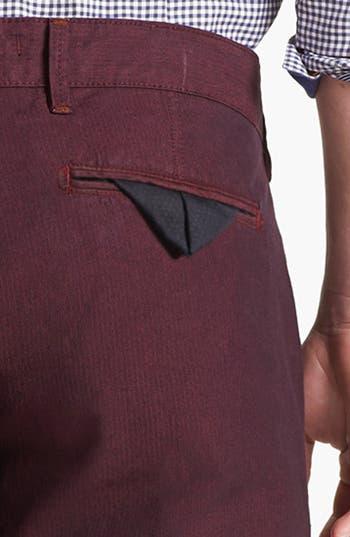 Alternate Image 3  - Ted Baker London 'Yayzerz' Overdyed Herringbone Pants