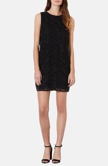 Main Image - Topshop Embellished Shift Dress