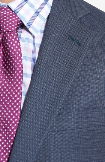 Alternate Image 5  - NY 2BTN SV FF CLASSIC FIT SUIT