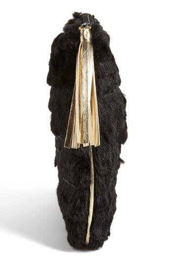 Alternate Image 4  - Stephanie Johnson 'Geneva Black' Large Flat Cosmetics Pouch