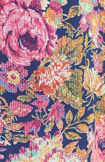 Alternate Image 3  - dee elle Print Tie Back Chiffon Dress (Juniors)