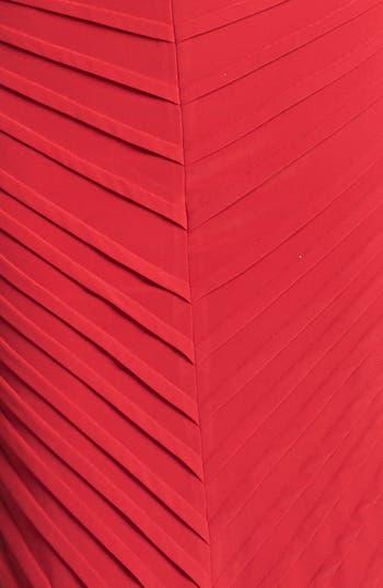 Alternate Image 3  - Adrianna Papell Pintuck Jersey Sheath Dress