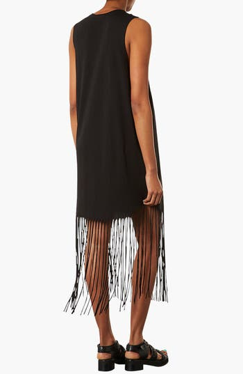Alternate Image 2  - Topshop Fringe Dress