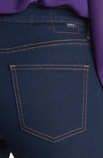 Alternate Image 3  - Jag Jeans 'Olivia' Denim Leggings (Indigo) (Petite)