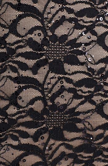 Alternate Image 3  - Alex Evenings Embellished Lace Panel Sheath Dress (Plus Size)