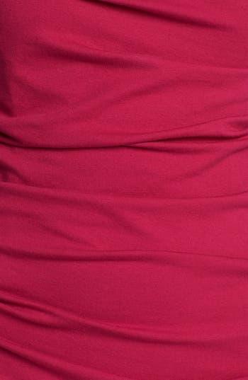 Alternate Image 3  - Betsey Johnson Bow Detail Ruched Sheath Dress