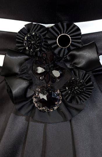 Alternate Image 3  - City Chic 'Melissa' Embellished Contrast Trim Sheath Dress (Plus Size)