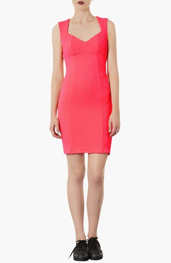 Main Image - Topshop Sweetheart Body-Con Dress