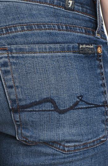 Alternate Image 3  - 7 For All Mankind® 'The Skinny with Squiggle' Skinny Jeans