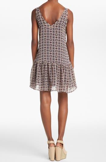Alternate Image 2  - ASTR Drop Waist Shift Dress