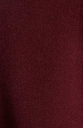 Alternate Image 3  - Lafayette 148 New York 'Alessa' Leather Trim Wool & Angora Jacket (Plus Size)