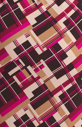 Alternate Image 3  - Anne Klein Print Jersey Faux Wrap Dress (Plus Size)