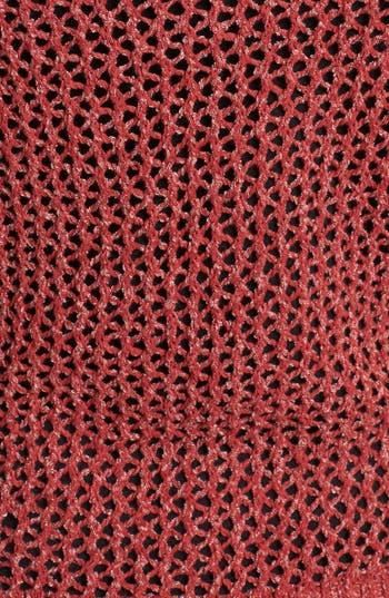 Alternate Image 3  - Lucky Brand 'Cerise' Open Stitch Sweater