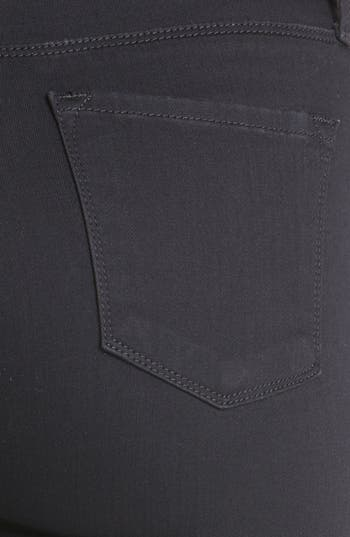 Alternate Image 3  - J Brand '2112 Rail' High Rise Skinny Jeans (Hewson)