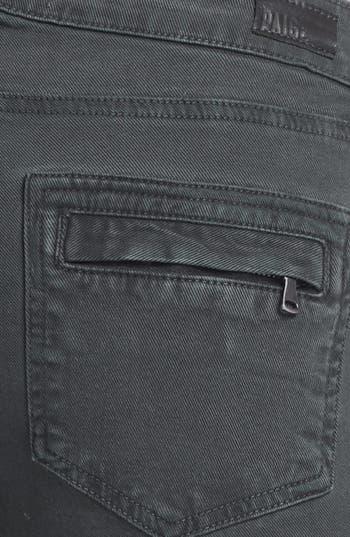 Alternate Image 3  - Paige Denim 'Marley' Seam Detail Skinny Jeans (Black Current)
