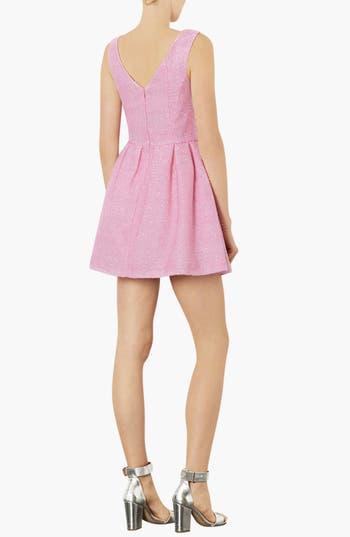 Alternate Image 2  - Topshop Fluffy Fit & Flare Dress
