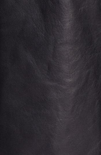 Alternate Image 3  - Ellen Tracy Leather Car Coat