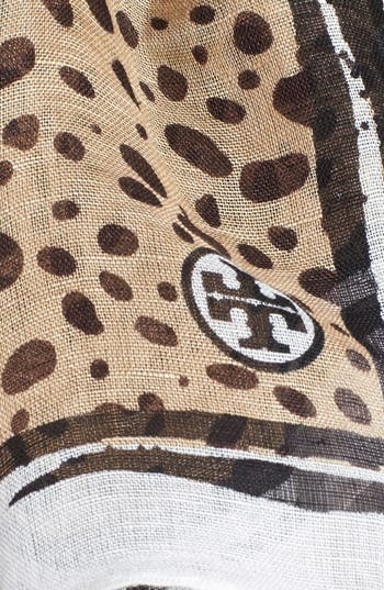 Alternate Image 2  - Tory Burch Animal Print Brushstroke Scarf