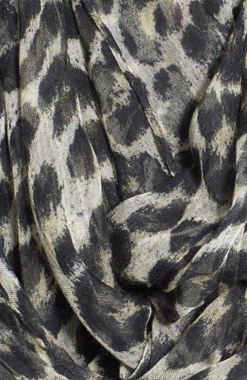 Alternate Image 2  - MICHAEL Michael Kors 'Tunisa' Animal Print Infinity Scarf