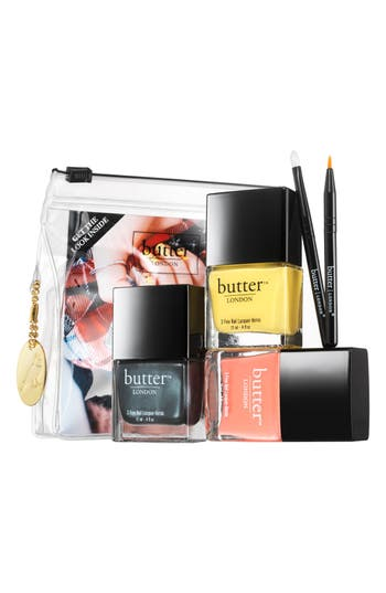 Alternate Image 4  - butter LONDON 'Punk Rock Plaid' Nail Lacquer Set (Limited Edition) ($63 Value)