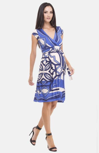 Alternate Image 1 Selected - Olian Print Maternity Dress