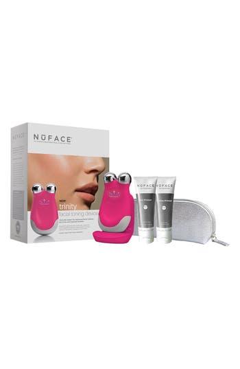 Main Image - NuFACE® 'Trinity - Deep Pink' Facial Toning Kit ($325 Value)
