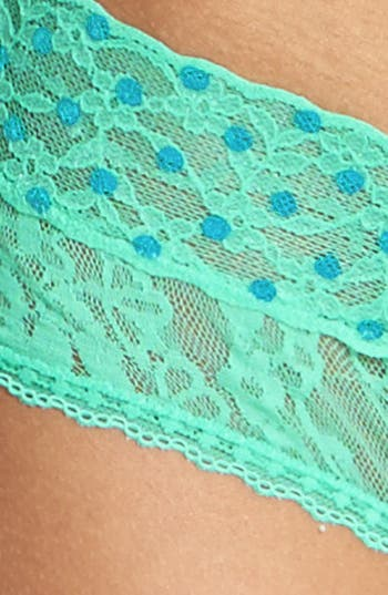 Alternate Image 3  - BP. Undercover Lace Cheeky (Juniors) (3 for $21)