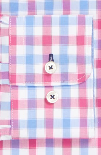 Alternate Image 2  - BOSS HUGO BOSS 'Juri' WW Slim Fit Easy Iron Check Dress Shirt