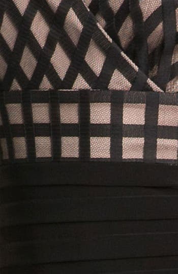 Alternate Image 3  - Adrianna Papell 'Net' Shutter Pleat Sheath Dress