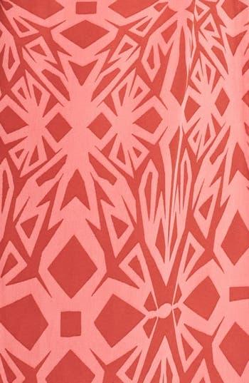 Alternate Image 3  - Fire Side Cutout Strapless Print Maxi Dress (Juniors)