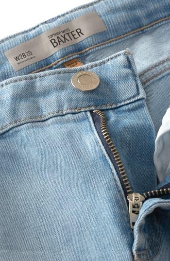 Alternate Image 3  - Topshop Moto 'Baxter' Skinny Jeans