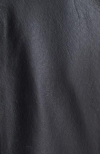 Alternate Image 3  - Mural Quilted Leather Biker Jacket