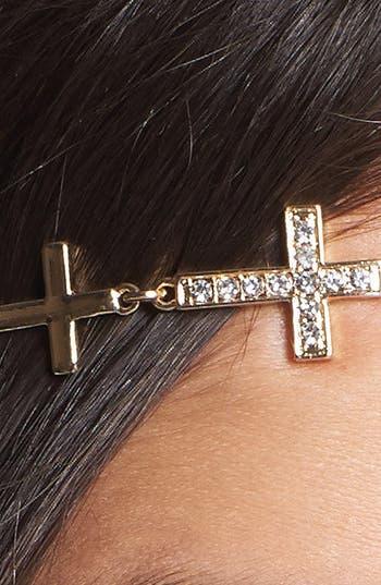 Alternate Image 2  - Tasha 'Cross' Chain Head Wrap