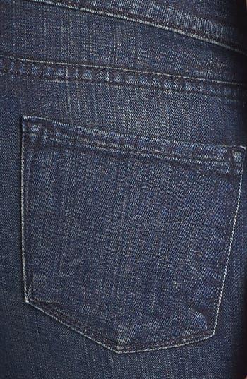 Alternate Image 3  - Vince Cigarette Leg Stretch Jeans (Dark Crimson Vintage)